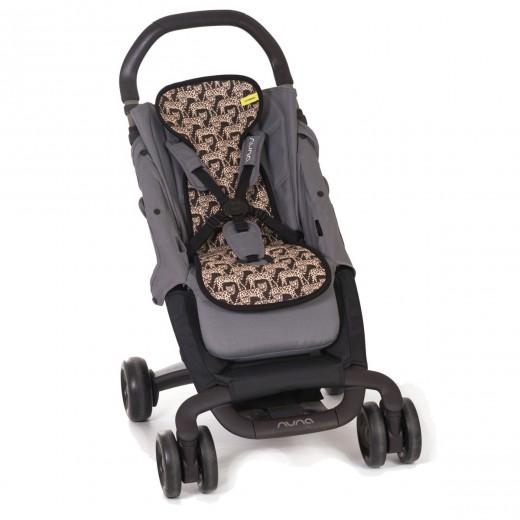 Orui laidus užvalkalas (universalus) vežimėliui, LEOPARDS