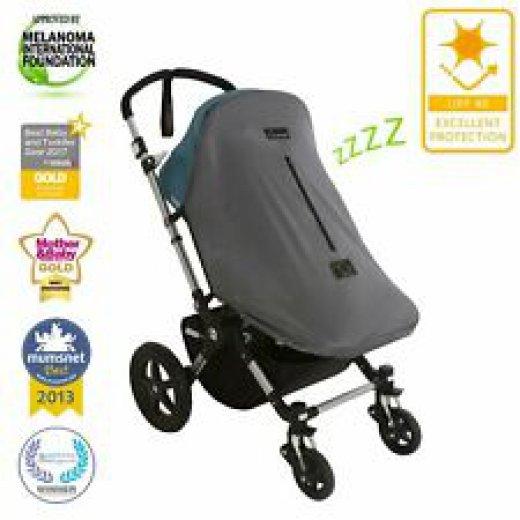 Užvalkalas nuo saulės SnoozeShade ORIGINAL DELUXE, vežimėliams (universalus)
