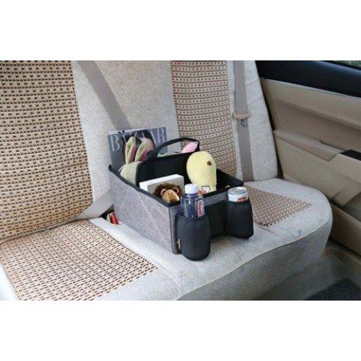 BabyDan daiktų krepšys vežimėliui CAR CADDY Melange Grey