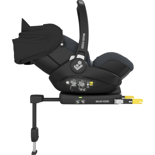 Komplektas kėdutė su IsoFix baze Maxi-Cosi MARBLE ESSENTIAL GRAPHITE