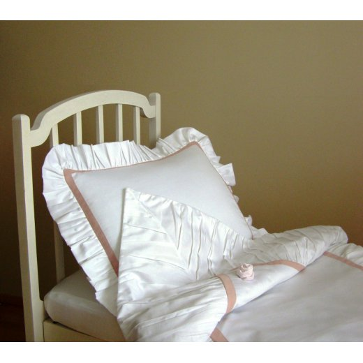 Pagalvės užvalkalas su kraštais Audrey, 40 x 50 cm.
