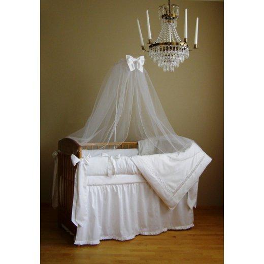 Baltas Angelas - patalynės kompl. (4 dalių) 120x60 cm.