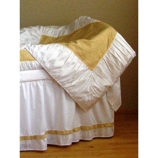 Baltoji Svajonė - antklodės užvalkalas 102 x 122 cm.