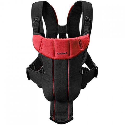 Nešioklė BABY CARIER ACTIVE BLACK/RED