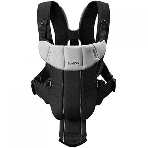Nešioklė BABY CARIER ACTIVE BLACK/SILVER