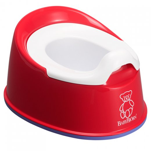 Naktipuodis Baby Bjorn Smart Potty RED
