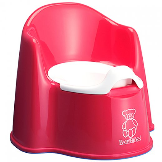 Puodukas POTTY BabyBJORN RED
