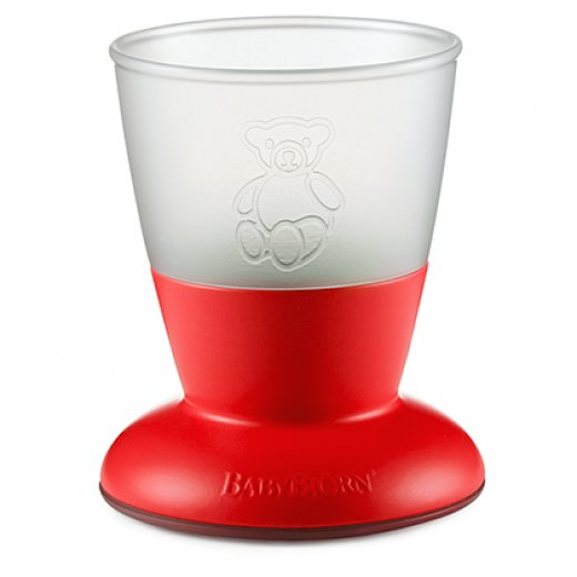 CUP BRIGHT RED