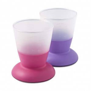 CUP 2-PACK PINK /PURPLE