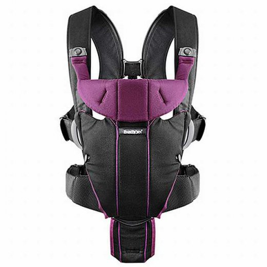 Nešioklė BABY CARIER Miracle BLACK PURPLE