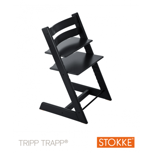 TRIPP TRAPP kėdutė Classic Collection BLACK (nuo 3 metų)