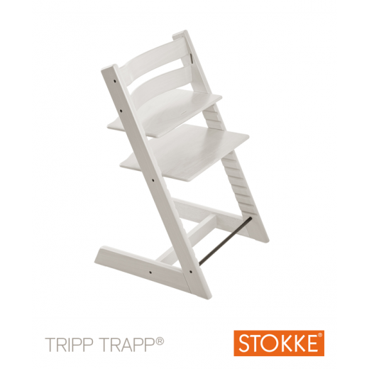 TRIPP TRAPP kėdutė Classic Collection WHITE (nuo 3 metų)