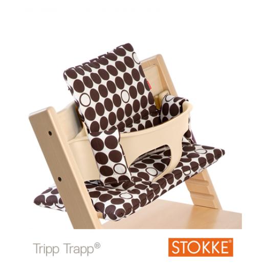 TRIPP TRAPP Cushion Beige Dots Brown