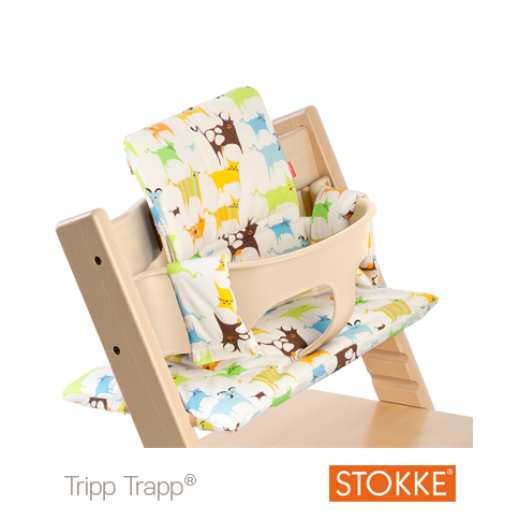 TRIPP TRAPP Cushion Tales Green Coated