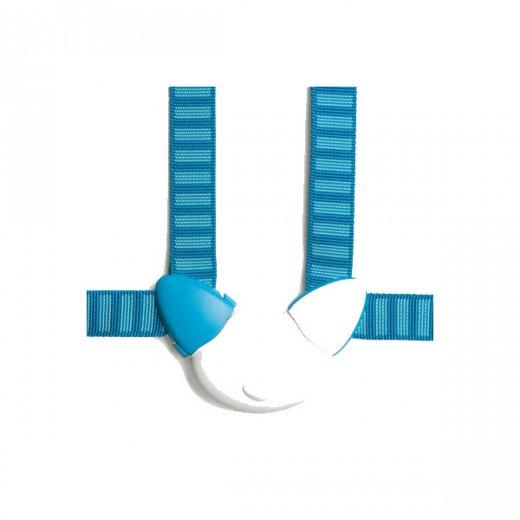STOKKE 4 tašk. saugos diržai BLUE