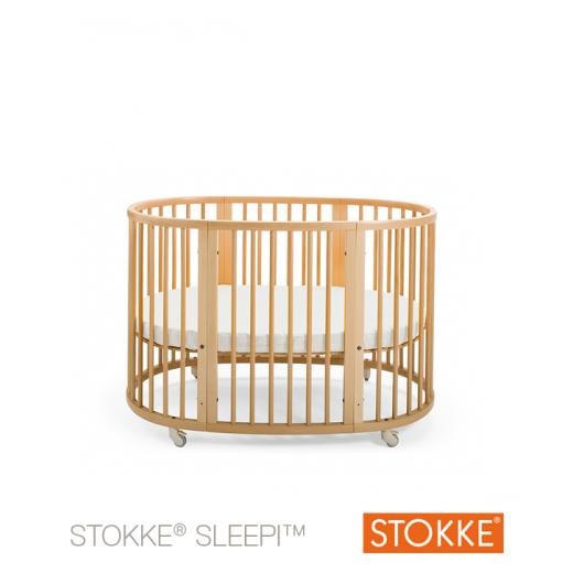 Stokke® Sleepi™ lovytė 127 cm. (0-36 mėn.) Natural