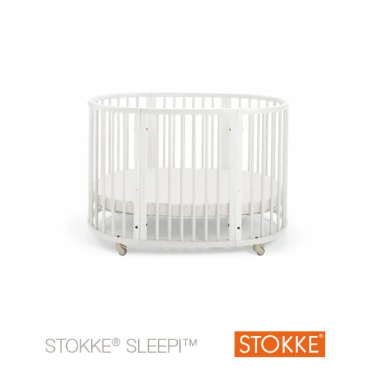 Stokke® Sleepi™ lovytė 127 cm. (0-36 mėn.) WHITE