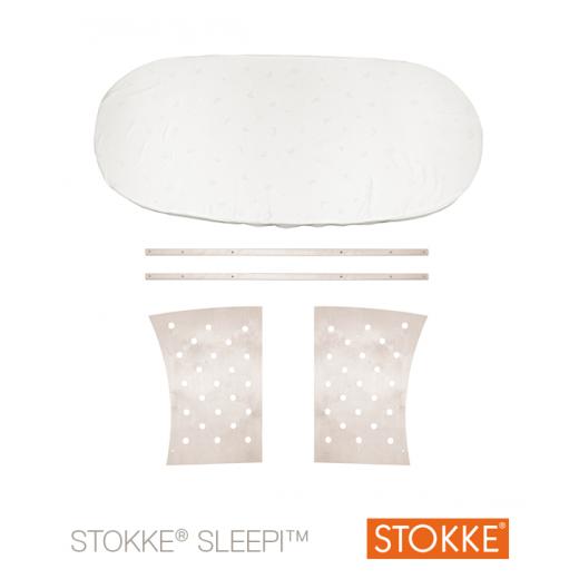 Stokke® Sleepi™ JUNIOR praplėtimas iki 172 cm. (~ iki 10 m.) be čiūžinio WHITE