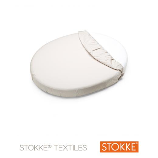 Stokke® Sleepi™ Mini Fitted Sheet BEIGE