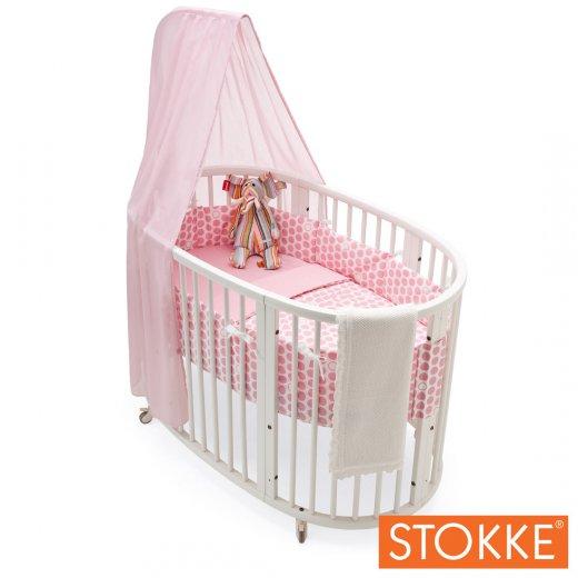 SLEEPI Bedline 100x135 Dots Pink