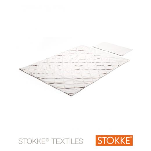 Stokke® Sleepi™ Mini patalynės komplektas 100x135, Classic BEIGE