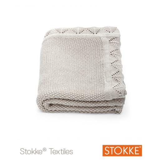 Stokke® Sleepi™ Mini Blanket Natural Classic BEIGE