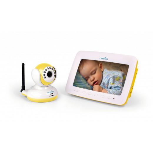 Bevielis vaikų priežiūros videoįrenginys, 7 colių LCD
