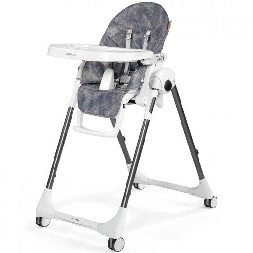 Maitinimo kėdė PRIMA PAPPA FOLLOW ME DENIM