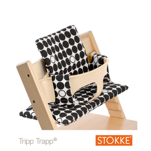 TRIPP TRAPP Cushion Beige Dots Black