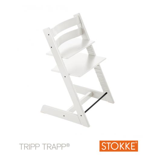 TRIPP TRAPP kėdutė Classic Collection White Wash (nuo 3 metų)