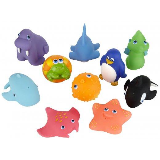 Žaislliukai voniai Sea Squirts 10 vnt.