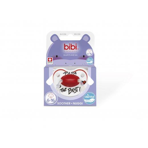 Bibi čiulptukas Happiness DenSil 6-16 Ring Papa rt SV-B1