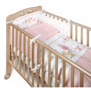 Lovos apsauga Yappy Forest Story Soft PINK
