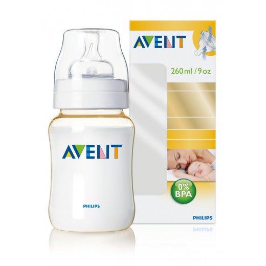 Buteliukas AVENT 260 ml. PES