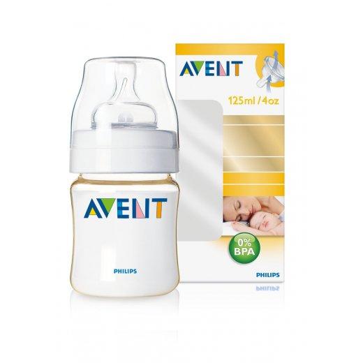 Buteliukas AVENT 125 ml. PES