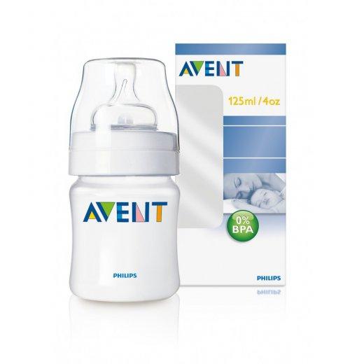 Buteliukas AVENT 125 ml.