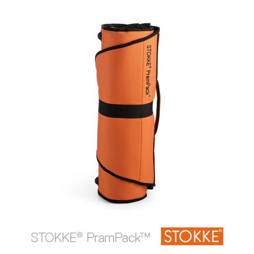 STOKKE PramPack lagaminas/ dėklas vežimėliui Orange / BLACK