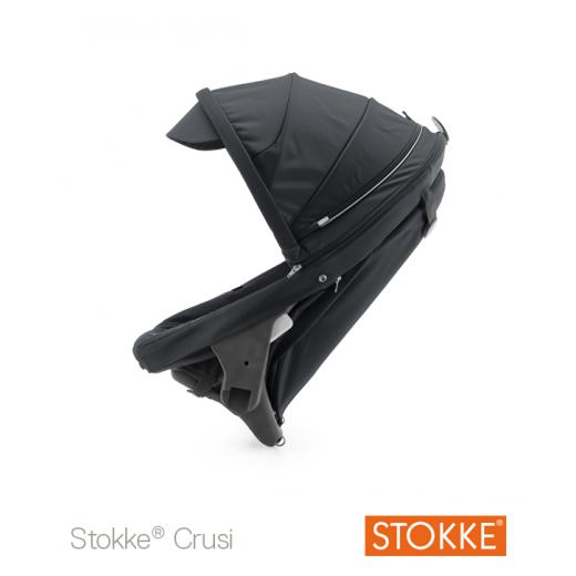 Crusi papildoma sėdima dalis (kompl. Adapteris) sėdima dalis tinka STOKKE Scoot V2 Dark Navy
