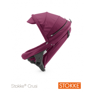Crusi papildoma sėdima dalis (kompl. Adapteris) sėdima dalis tinka STOKKE Scoot V1 Purple