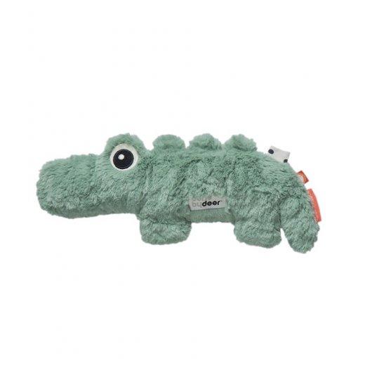 Done by Deer minkštas žaislas, Cuddle Cut Croco, Green
