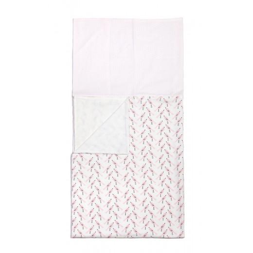 Patalynės komplektas Birds Limited Edition (antklodės ir pagalvės užvalkalas)