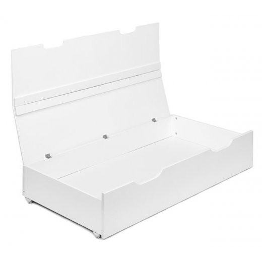 Patalynės dėžė Yappy Smart WHITE (universali, tinka 60x120 cm lovoms)