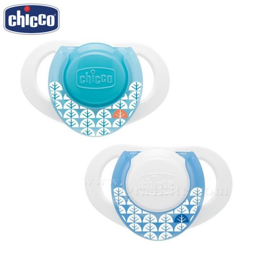 PHYSIO COMPACT žindukas lateksinis, mėlynas 0-6M / 2vnt