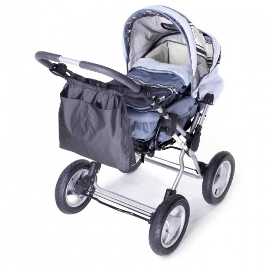 Pirkinių krepšys vežimėliui 2 in 1 universalus
