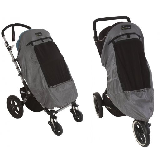 Užvalkalas nuo saulės SnoozeShade Plus DELUXE, vežimėliams (universalus)