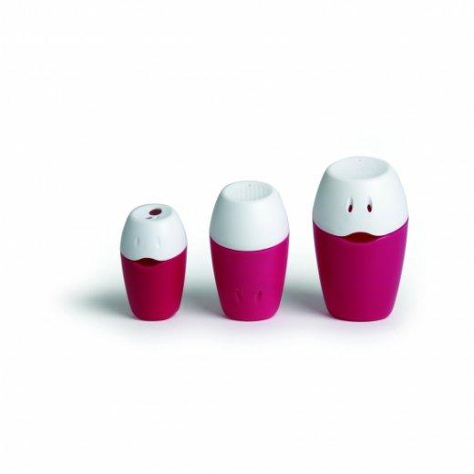 TRIPLO vonios žaislai plastikiniai Fuchsia