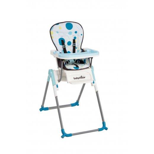Maitinimo kėdė SLIM BLUE
