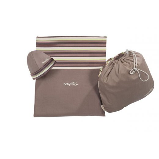 """Sling""""as Baby Wrap ALMOND/Taupe"""