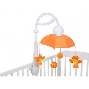 Karuselė RAINBOW MOBILE orange