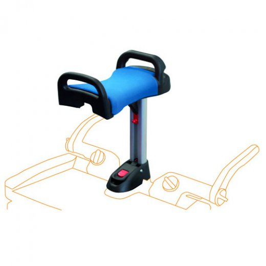 Lascal platformos kėdutė Buggy Board Saddle MAXI Blue